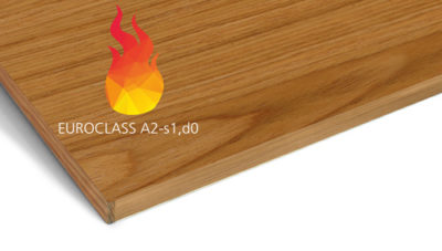 Gustafs panels offer fire rating A2-s1,d0