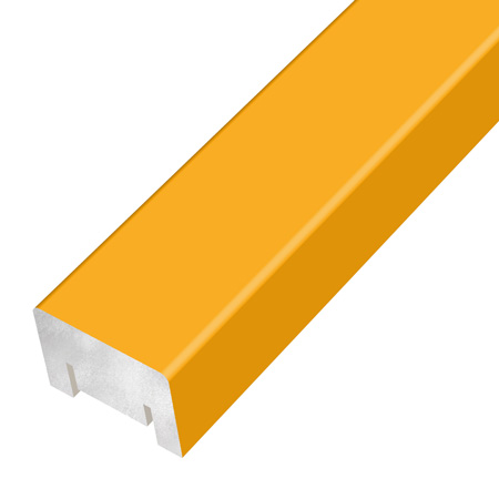 Gustafs rib coloured foil yellow
