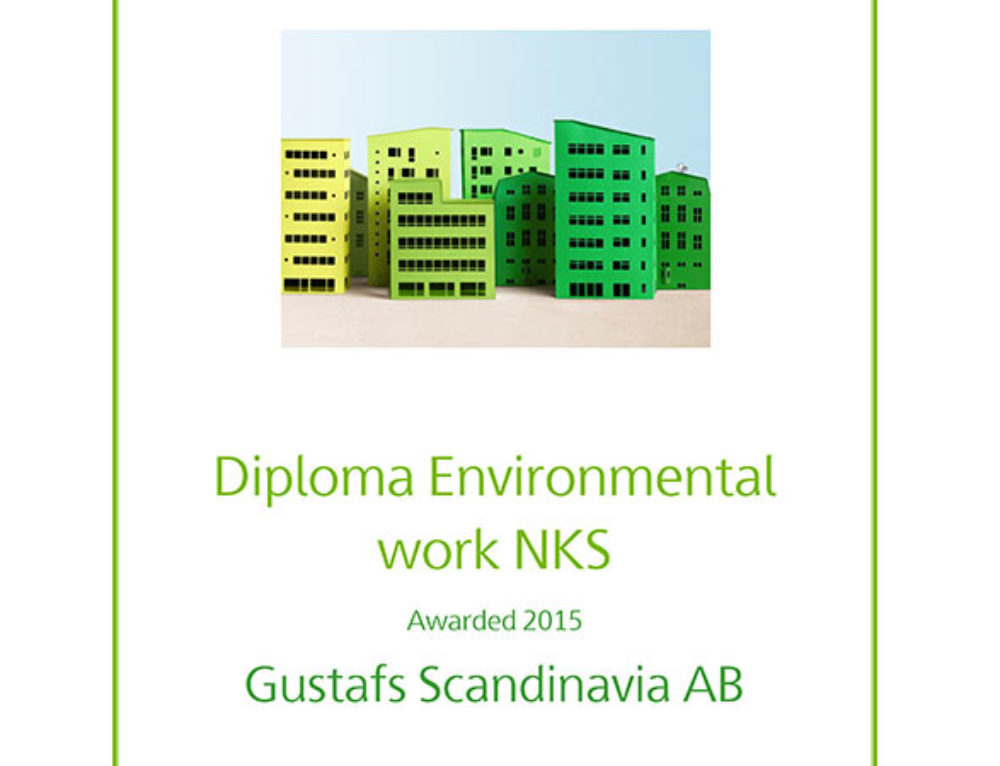Gustafs Awarded for environmental work with NKS