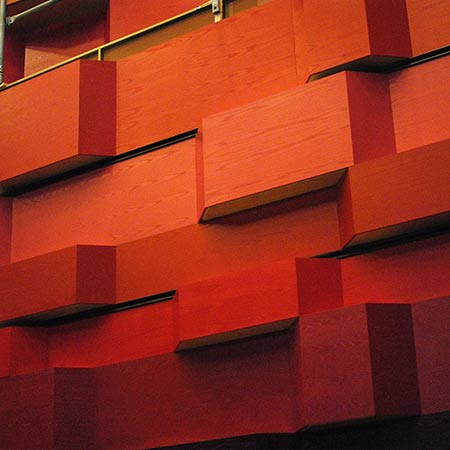 Bespoke acoustic panels at royal college of music