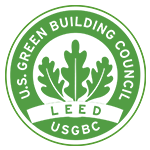LEED points for a sustainable Gustafs building