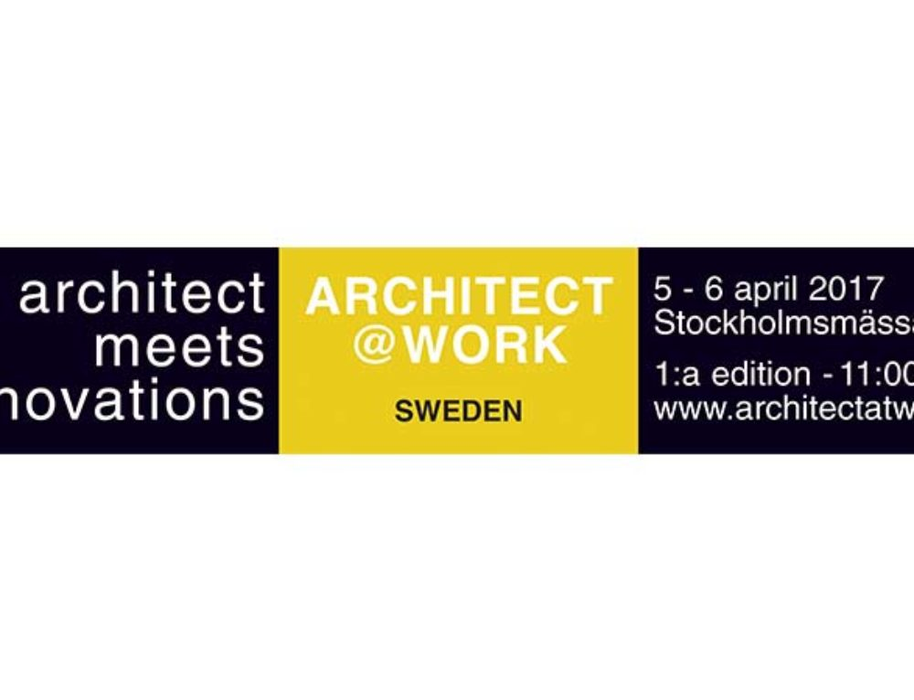 Architect at work, Stockholm
