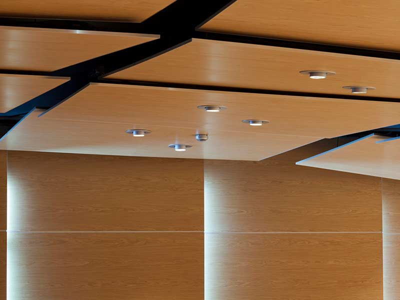 Gustafs ceiling panels with acoustic properties