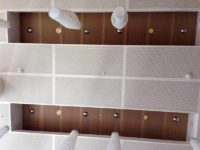 Perforated Ceiling Gustafs wooden panels