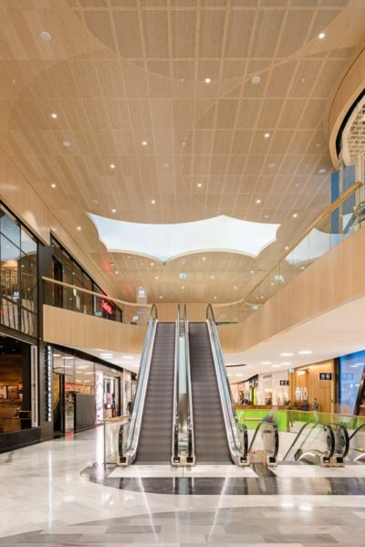 Mall of scandinavia with gustafs ceiling panels