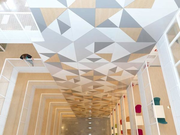 Nordea Office design with Gustafs Panels