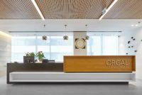 Interior office design with Gustafs products