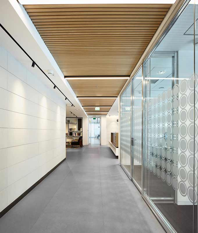 Gustafs Linear Plank great for interior office design