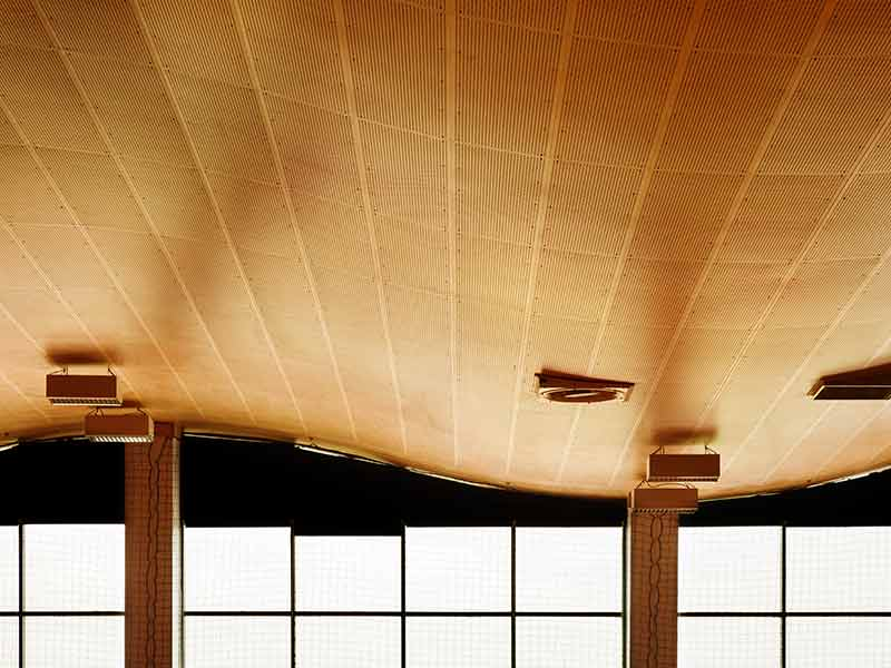 Curved ceiling in Poland