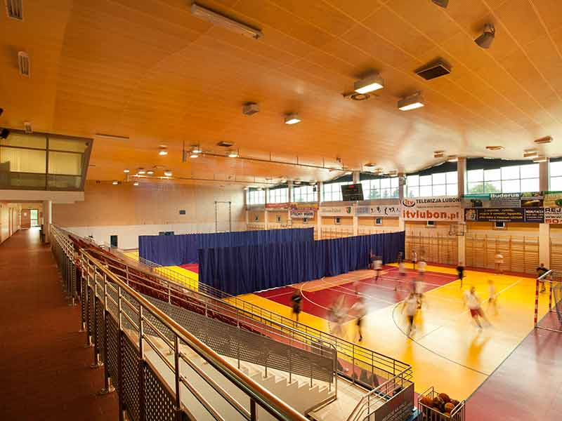 Gustafs acoustic panels for ceilings in Poland