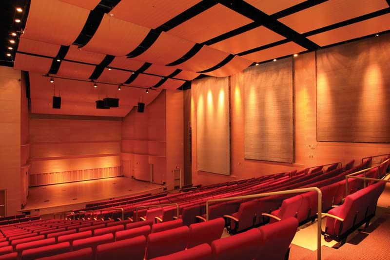 Concert Hall Adelphi University Arts and Performing Center