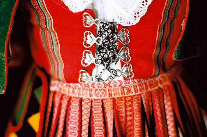 Traditional costume from Dalarna