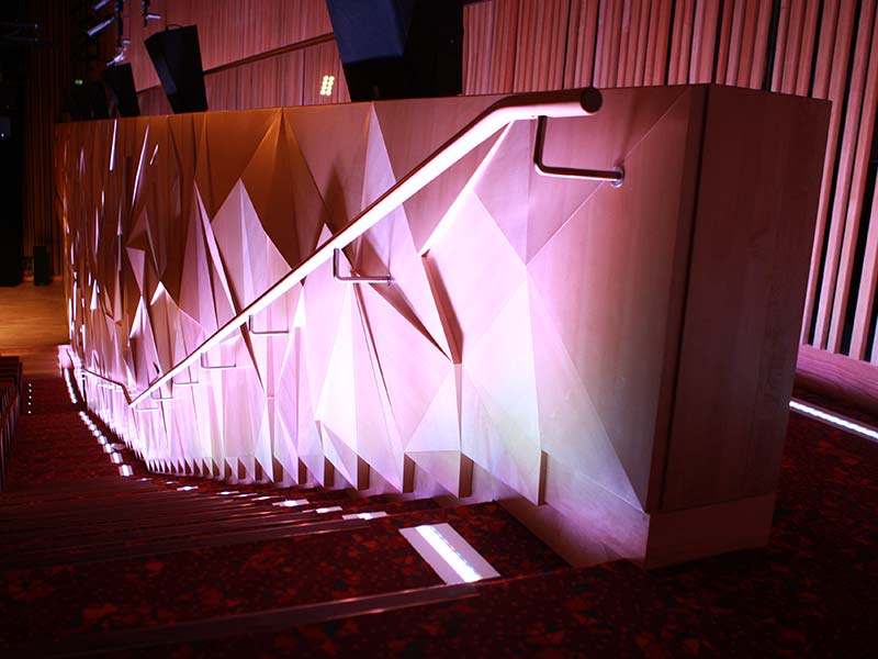 Quatar 3d wall installation