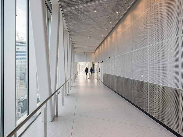 Gustafs HPL Laminate Panels in public spaces