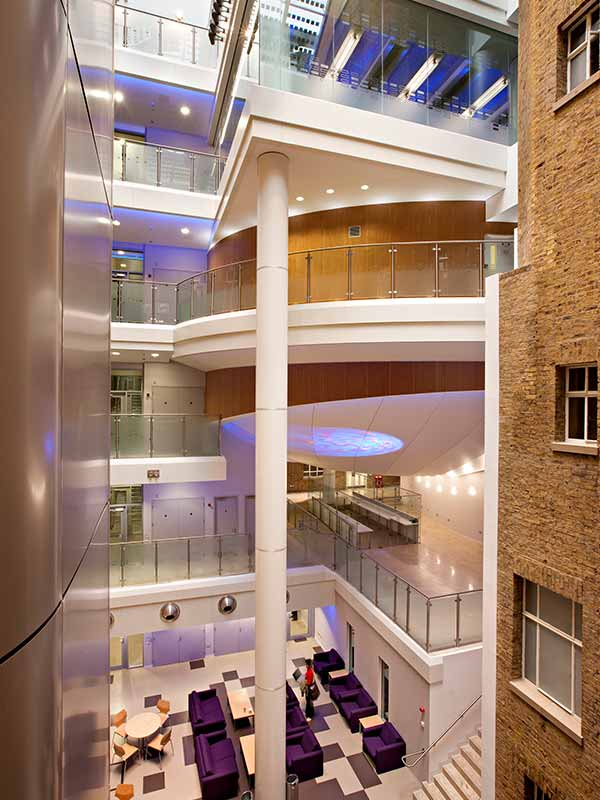 London School of hygiene interior design
