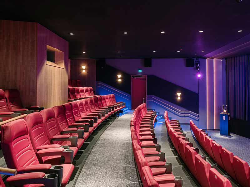 Göta Biograf in gothenburg refurbished with new cinema interior