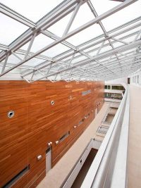 RP8 perforated panels at university of Gdansk
