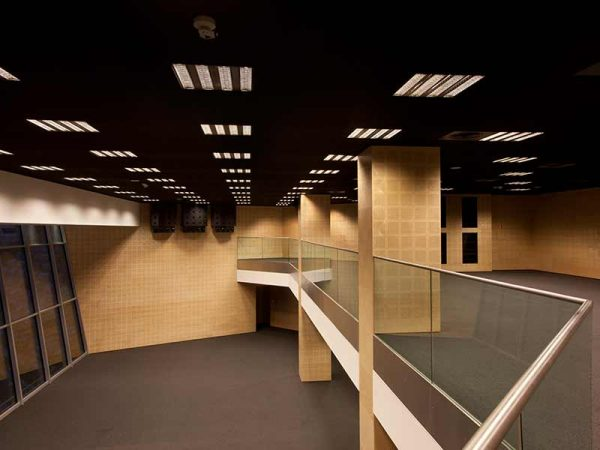 perforated wooden panels for wall and ceiling panelling