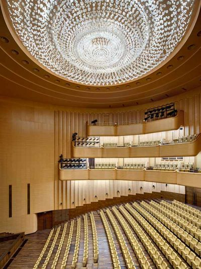Gustafs panels cladded at Kazakh national academy of choreograpy