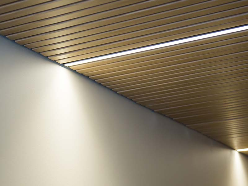 Recessed Led Lightning Gustafs D Line Scandinavia