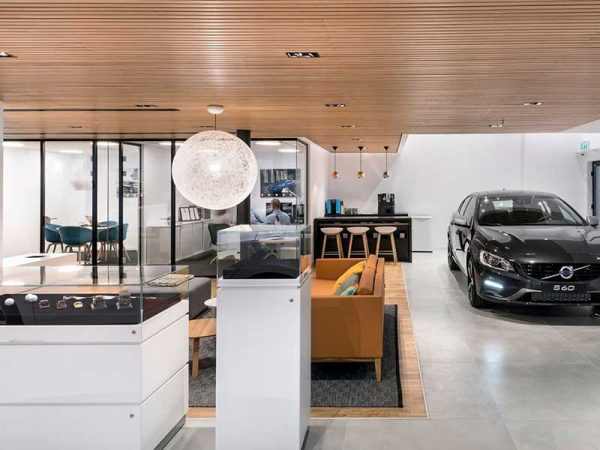 Volvo Showroom in Ranana, Israel