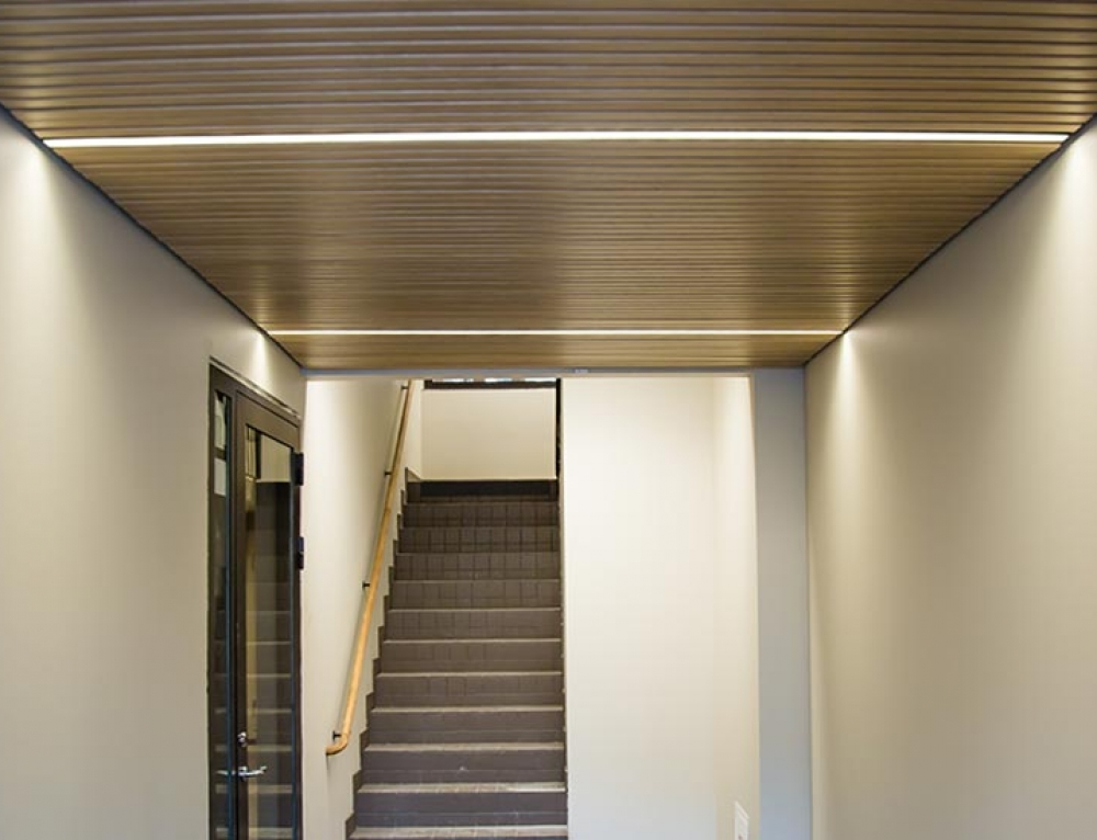Linear LED lighting for ceilings – Gustafs D-Line