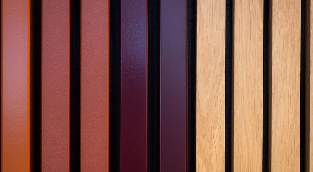 new timber cladding panel design