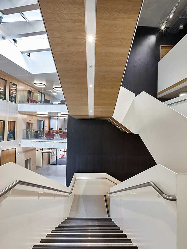 Wooden Panels Contribute To Breeam Excellent At Royal