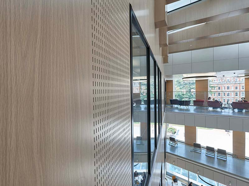 perforated acoustic wall panels