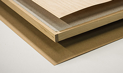 A2-s1,d0 fire retardant wooden panel