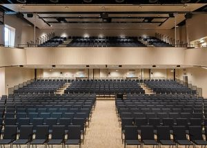 Acoustic panel design at Borås Congress