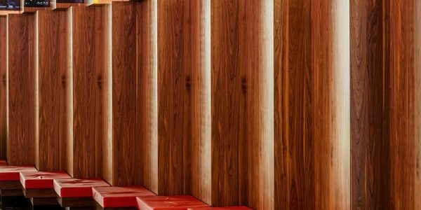 Bespoke wooden panels for wall cladding