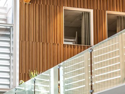 Timber panels in different dimensions and oak veneer