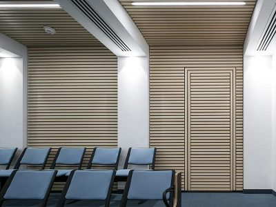 Timber panels with integrated doorframe