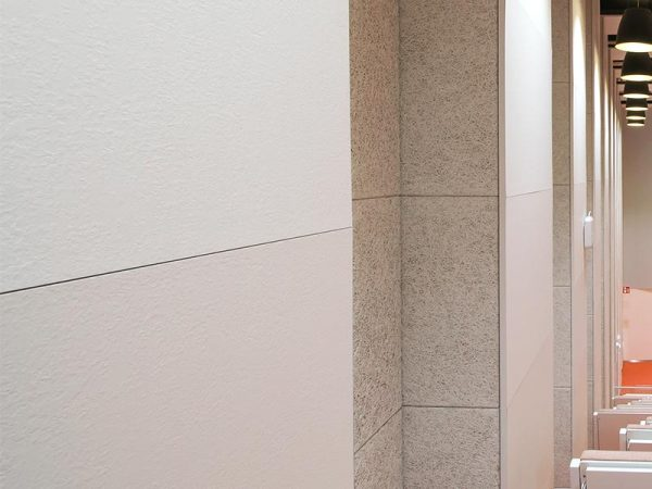 Laminate panels with eggshell surface