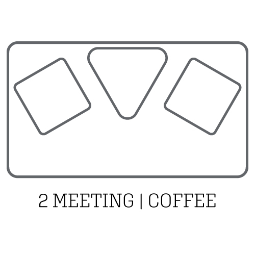 layout acoustic pod 2 meeting coffee