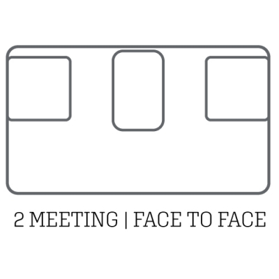 layout acoustic pod 2 meeting face to face