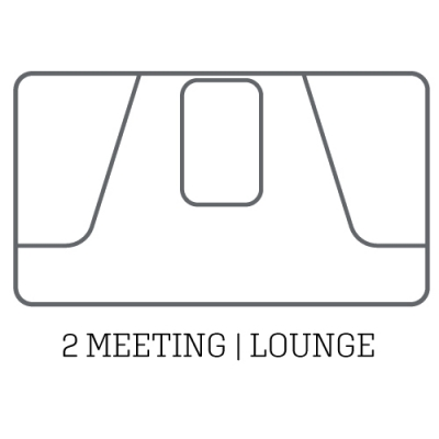 layout acoustic pod 2 meeting lounge