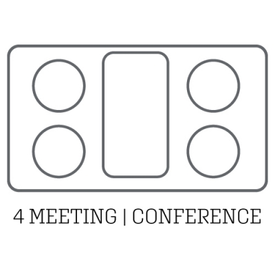 layout acoustic pod 4 meeting conference