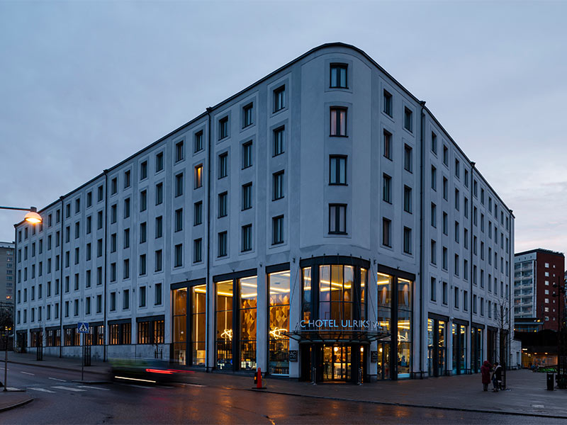 The newly opened AC by Marriott in Stockholm
