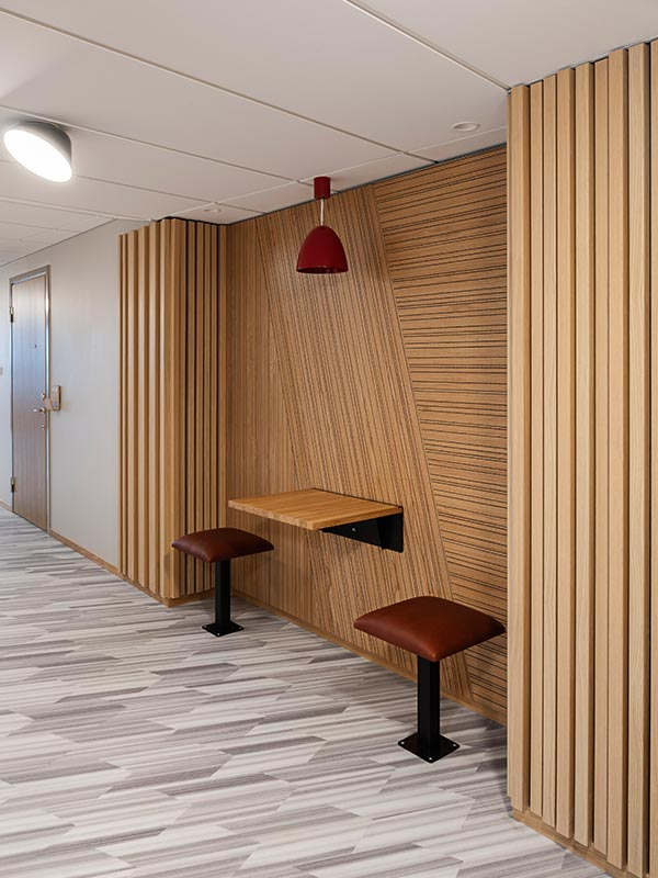 Mounted decorative panels and timber panels