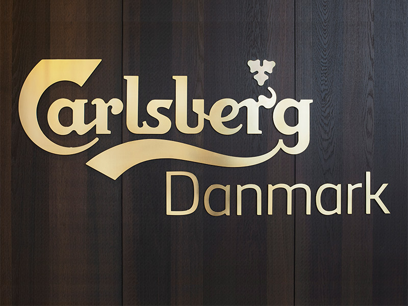 Carlsberg Logo on Gustafs Panels