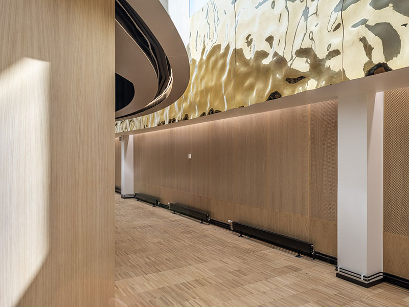 Acoustic Wood panels in hospital environment