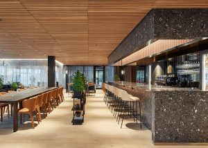 Office bar in high-end office