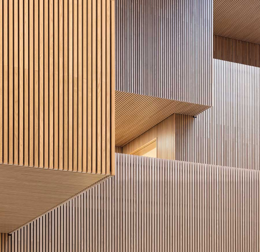Lamellow by Gustafs - slatted acoustic panels for your home