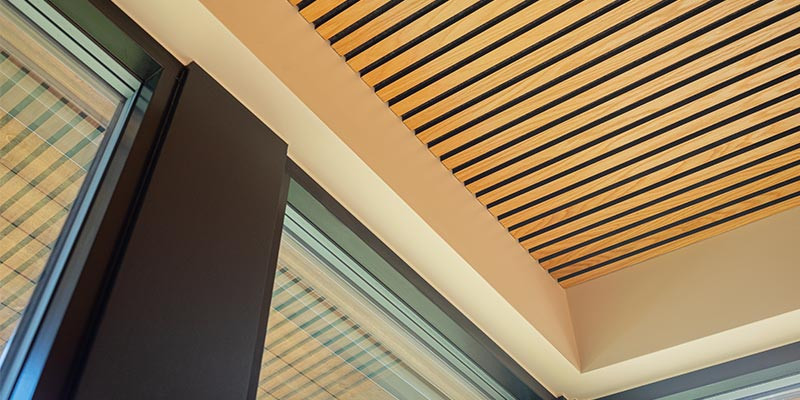 Gustafs acoustic ceiling panel for resedential installations
