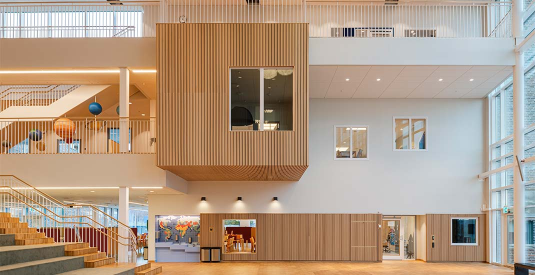 Acoustic trend within Swedish school design