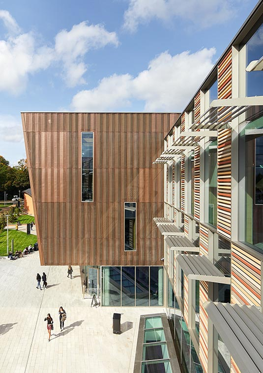Royal Holloway designed by Associated Architects