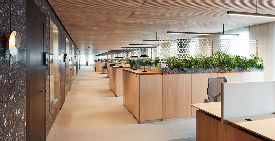 EQT head office focuses on acoustically adopted environment