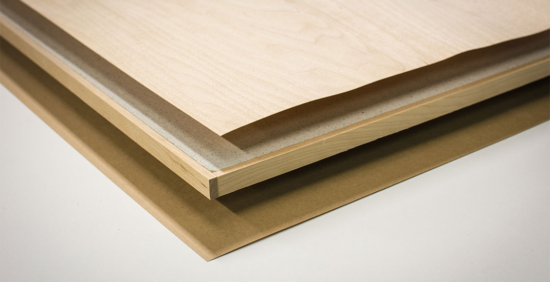 Fire safe wood panels - how is the composition of the product